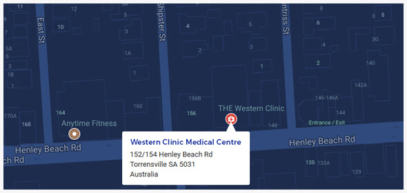 Location Map | Western Clinic Medical Centre