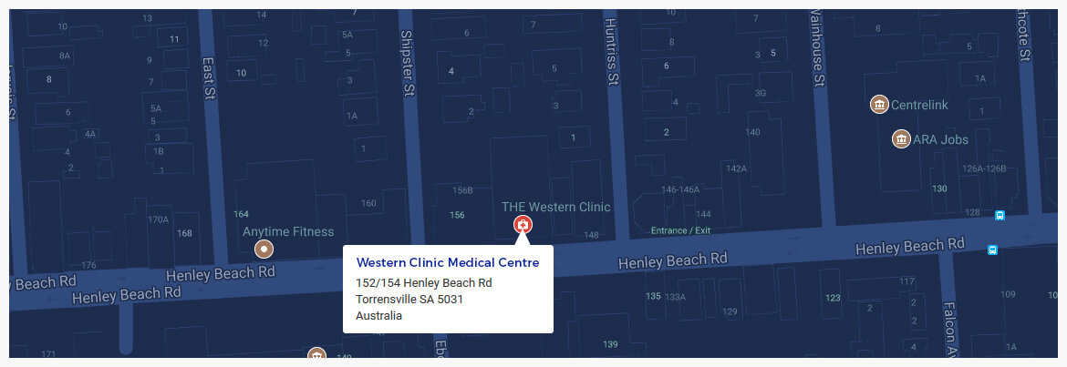 Western Clinic Medical Centre Henley Beach Rd, Torrensville SA 5031